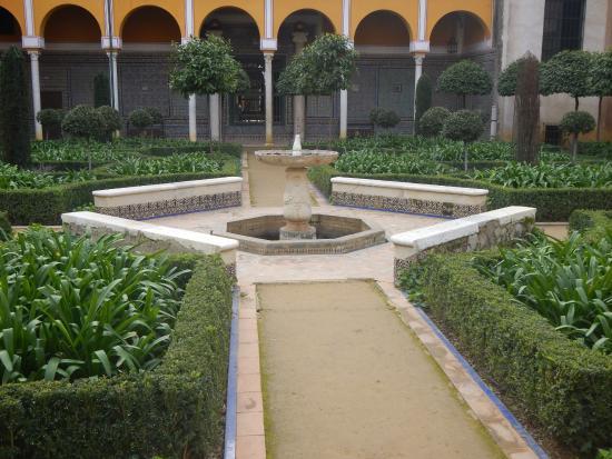 Giardino interno picture of casa de pilatos seville - Giardino interno casa ...