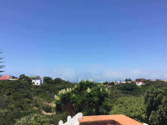 Dolphin View Guesthouse: Fire from the balcony