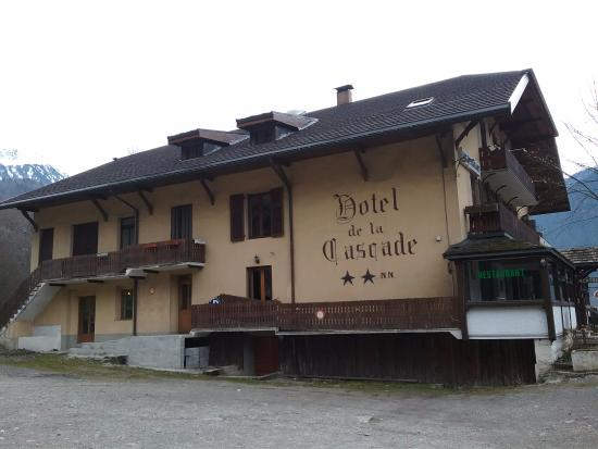 Villard-sur-Doron, Fransa: Vue de l'hôtel