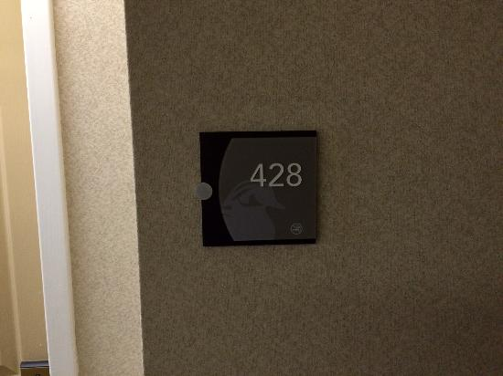 Homewood Suites Alexandria: Room 428 is a quiet room