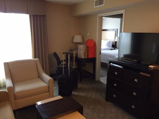 Homewood Suites Alexandria: Living room # 428