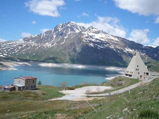 Panorama foto di colle del moncenisio moncenisio for Acque pure italia recensioni