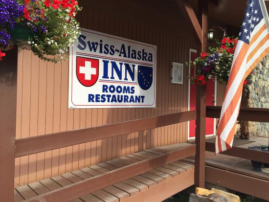 Swiss-Alaska Inn Talkeetna: Great location near town