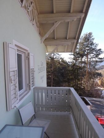 Pension Hauenstein: Il balcone della camera