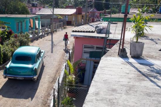Carmen y Daniel : Vue de la terrasse sur le toit