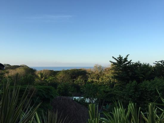 Horizon Ocean View Hotel and Yoga Center: view from the porch