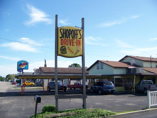 Syracuse, IN: Still offers car hop service in the summer months. A blast from the past!