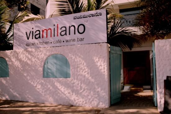 Via Milano: Restaurant Front