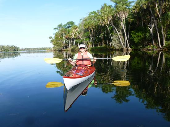 The Chassahowitzka Hotel: easy access to flat water