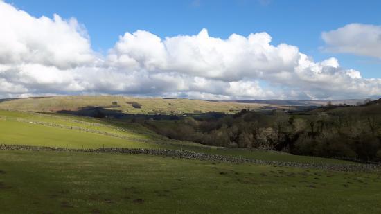 North Yorkshire, UK: Hawes down Upper  Wensleydale