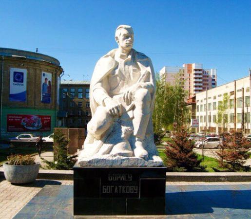 Boris Bogatkov Statue