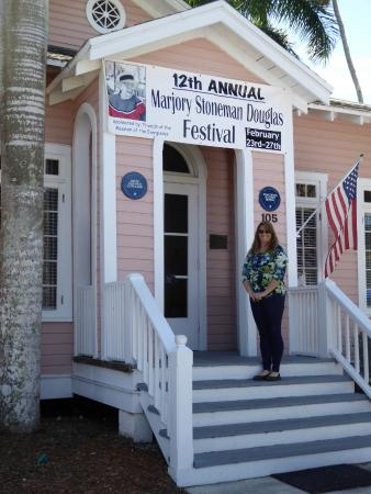 """Museum of the Everglades : Museum employee Martha Hutcheson is the Festival's coordinator and """"Energizer Bunny."""""""