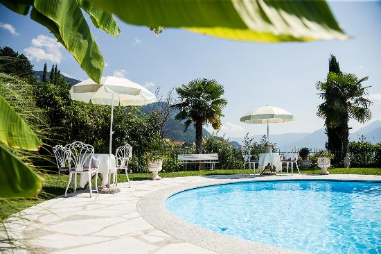 Hotel Lagrein: Hotelgarten