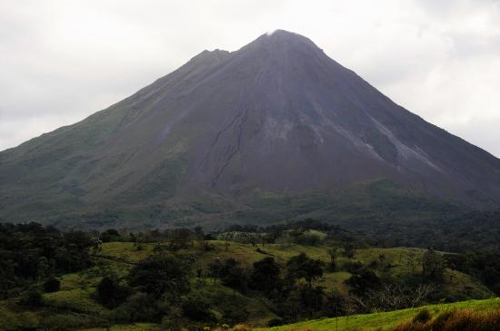 Arenal volcano is in the area although not seen from Agua Inn.