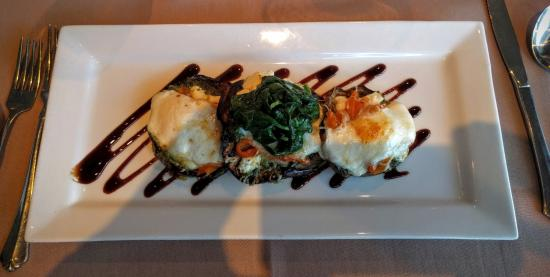 Assaggi Mediterranean Bistro: Grilled Eggplant