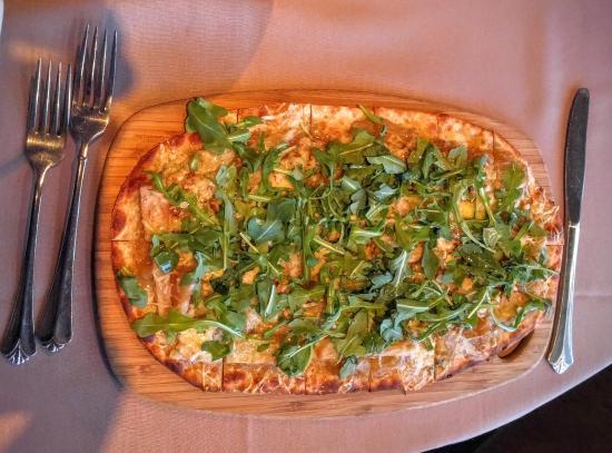 Assaggi Mediterranean Bistro: Pear Pizza - Wood Fired Oven