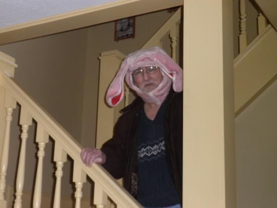 a christmas story house ralphies bunny suit - A Christmas Story Bunny