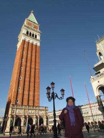 Hotel Le Isole: 5 minutes walk from the campanile on St Mark's Square