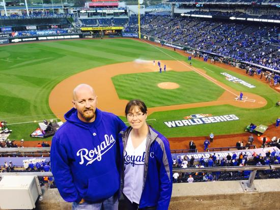 World Series, Game 2, Oct 28, 2015 - Picture of Kauffman
