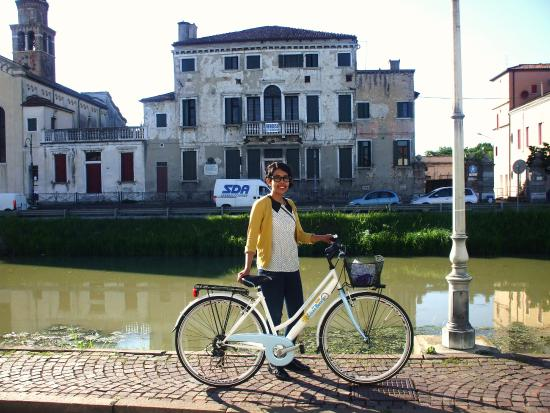 Riviera del Brenta Bike : giugno 2015: la nostra amica messicana per una bella pedalata in Riviera del Brenta
