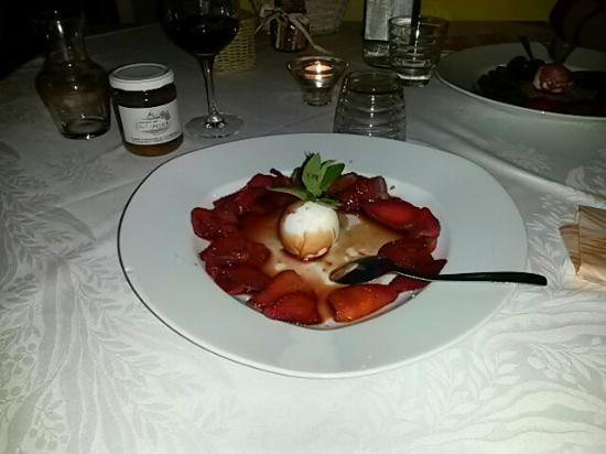 La Campanella: fragole alla veneziana