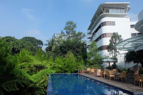 pool and restaurant areas picture of house sangkuriang bandung rh tripadvisor com