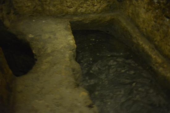 Siracusa: una vasca del bagno ebraico - Foto di Casa Bianca Mikvah ...
