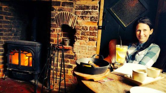 The Sun Inn: Perfect atmosphere!
