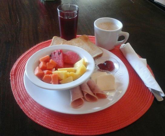 Villa Marita: desayuno continental