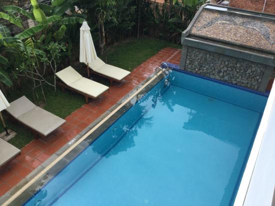Safe, clean and calm hotel - refuge from the chaos of Siem Reap!