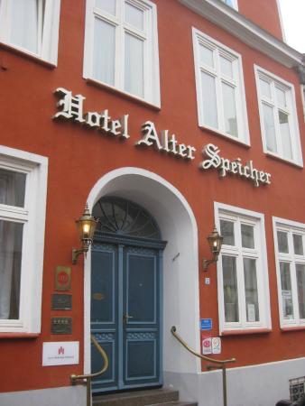 City Partner Hotel Alter Speicher: Haupteingang Bohrstraße