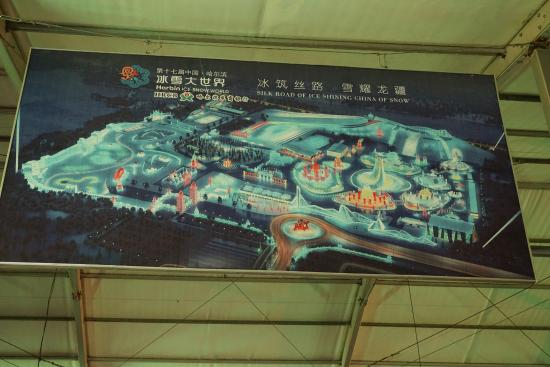 Map Picture of Harbin Ice and Snow World Harbin TripAdvisor