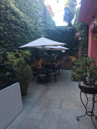 Casa Pereyra Hotel: Patio