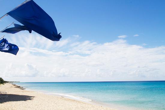 Sand Castle on the Beach: Miles of White Sandy Beach
