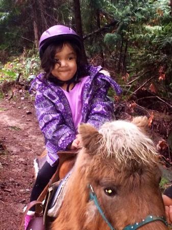 Roberts Creek, Kanada: Natural born rider