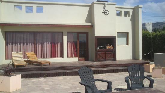 Altos de la Costanera - Aparts: Vista desde el patio/azotea hacia el Departamento y asador