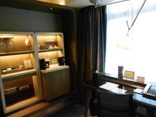 mini bar desk work area neopresso coffee machine and hot water rh tripadvisor com sg
