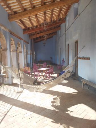 Torroja del Priorat, España: Terraza exterior