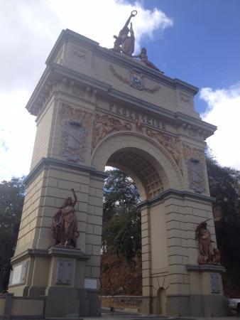 Arco de la Federacion: Arco de la Federación, foto impelable