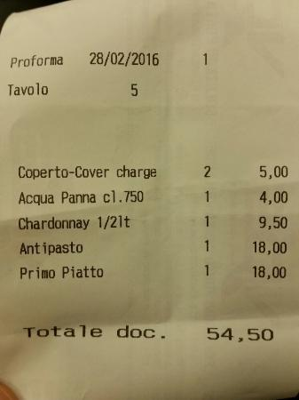 Ristorante Rosa Rossa: 20160228_211146_large.jpg