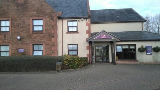 Premier Inn Dumfries Hotel : Great location