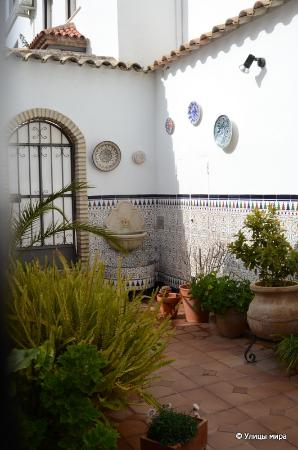 Zuheros: Один из двориков