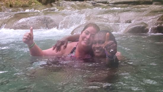 Savanna La Mar, Jamaica: Mayfield Falls