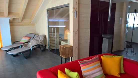 Belalp, İsviçre: Spa / Sauna