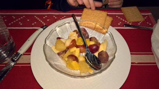 Belalp, Schweiz: Dessert