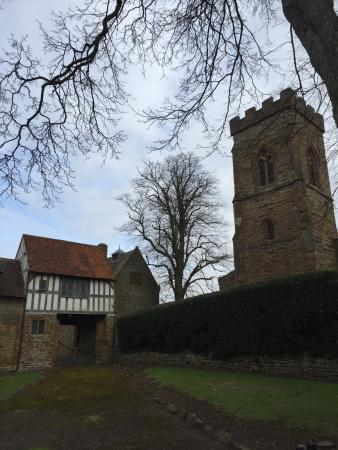 Ashby Saint Ledgers, UK: The room Guy Fawkes did his 'plotting'