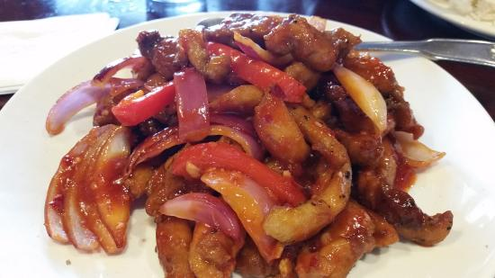 Belacan Grill : ayam masak merah