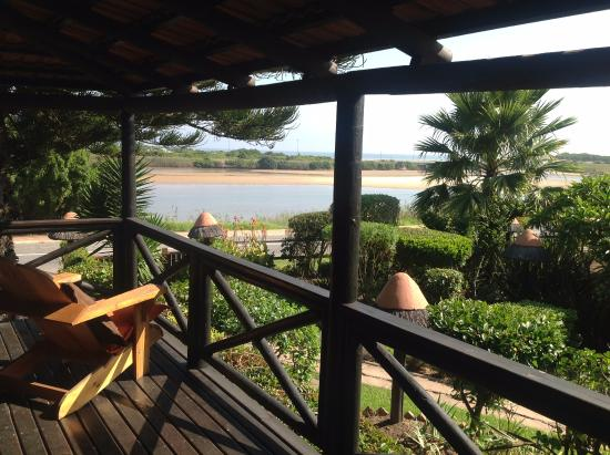 Waterside Lodge B&B, Wilderness: View from The Sunbird Suite