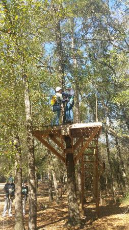 Adventures Unlimited Outdoor Center and Resort : Best ziplining day ever!