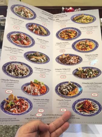 Gran variedad de chilaquiles para el desayuno fotograf a for Sanborns azulejos precios